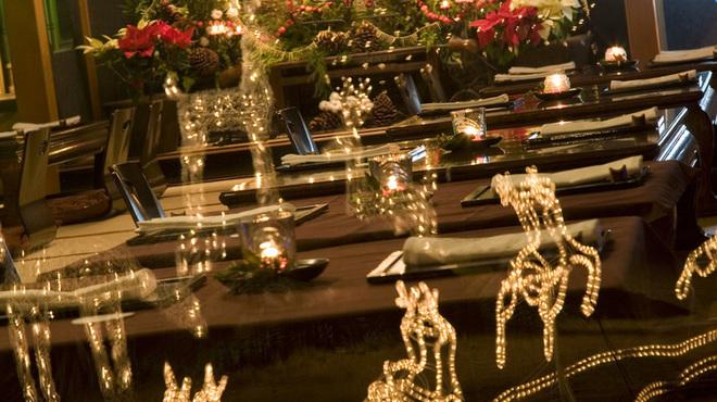 国登録文化財 二木屋 - その他写真:二木屋のクリスマス