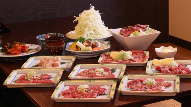 さるとび - 料理写真:5,000円ぽっきりおまかせコース