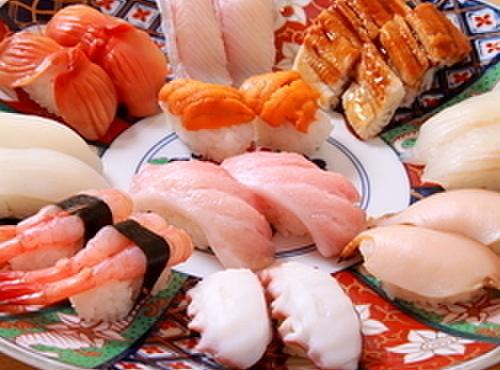 錦 - 料理写真:素材にこだわりぬいた握り寿司