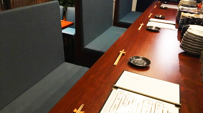 ADO - 内観写真:カウンター席