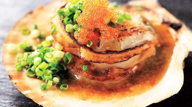 喜酒快膳 夢玄 - 料理写真:プリップリ「活きホタテのグリル」