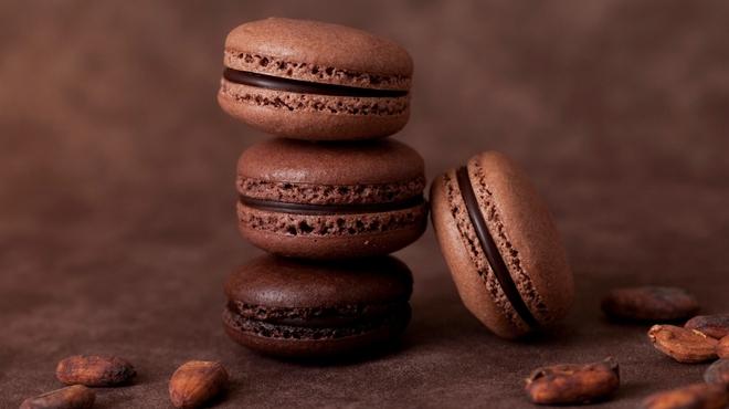 リンツ ショコラ カフェ - 料理写真:期間限定「デリース ダークチョコレート70%、85%、99%」
