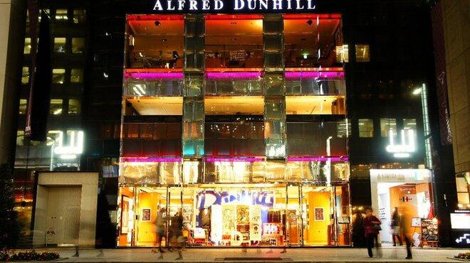 アクアリウム at ALFRED DUNHILL - 外観写真:夜の外観