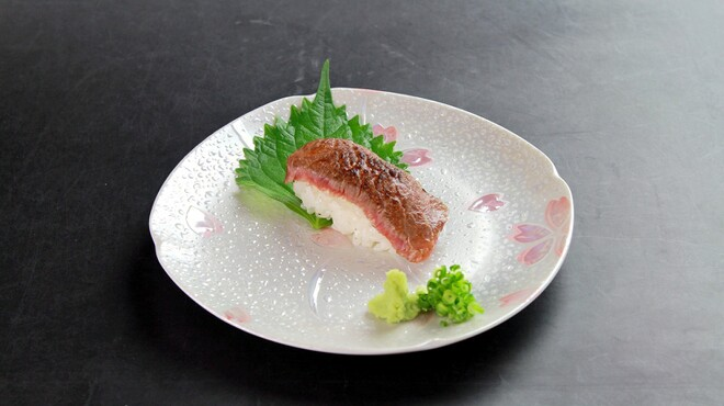 菅乃屋 - 料理写真:霜降り炙りにぎり