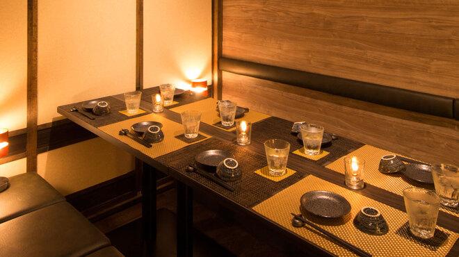 個室居酒屋 北海道漁港 なまら屋 - メイン写真: