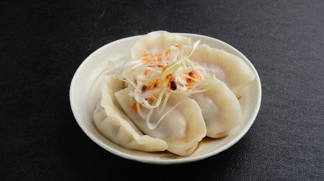 つけめん102 - 料理写真:水餃子