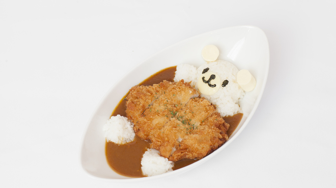 めいどりーみん - 料理写真:プールでぷかぷかくまたんカレーライスス