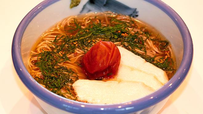 AFURI - 料理写真:大葉香る梅塩そば