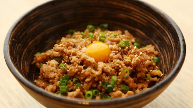 鳥恵 - 料理写真:そぼろ丼