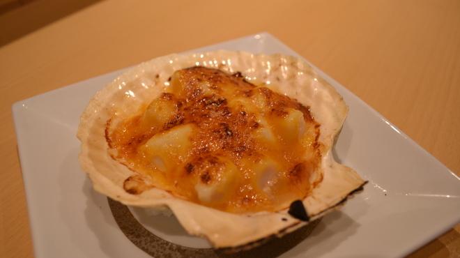 和饗 - 料理写真:ホタテ味噌焼き