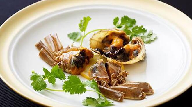 メゾン・ド・ユーロン - 料理写真:上海蟹の紹興酒漬け
