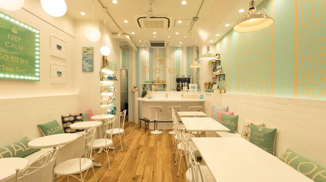 Hawaiian Cafe & Bar Tee-Tee - 内観写真:明るい店内。17:00にターンダウンします。