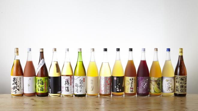 シュガー マーケット - 料理写真:果実酒・梅酒が100種類以上!栗・いちご・いちじく・メロンなど変わり種もたくさん!