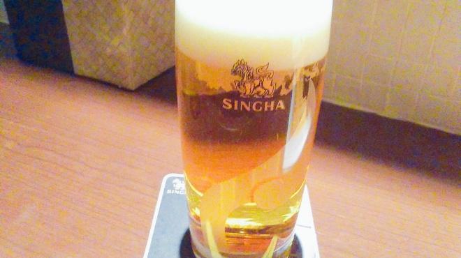 ガルーダ - ドリンク写真:シンハー生ビール