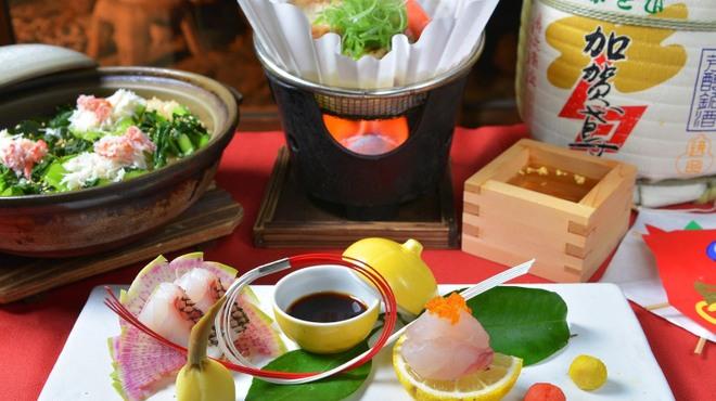 神楽坂 おいしんぼ - 料理写真:新年の集いのお食事に祝月コース