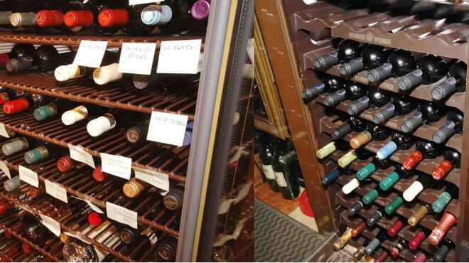 伊藤グリル - 内観写真:ワインの品揃えも豊富です。