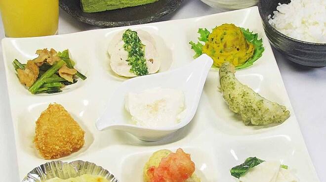 宇治創 こころ - 料理写真:有機栽培野菜や地場野菜をふんだんに使ったランチプレート