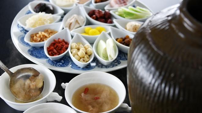 中国料理 李芳 - 料理写真:薬膳壺蒸しスープ