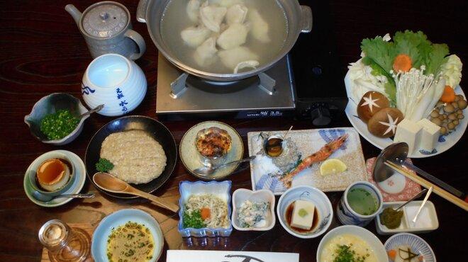 博多水たき元祖 水月 - 料理写真:水たきフルコース