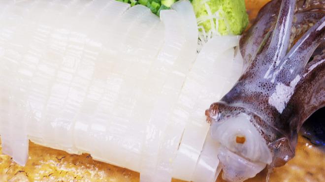泳ぎイカバル カラマーロ - 料理写真: