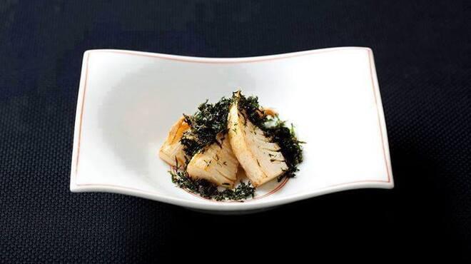 メゾン・ド・ユーロン - 料理写真:春筍の青海苔がけ