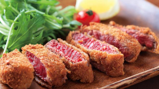 喜酒快膳 夢玄 - 料理写真:牛フィレのレアかつ