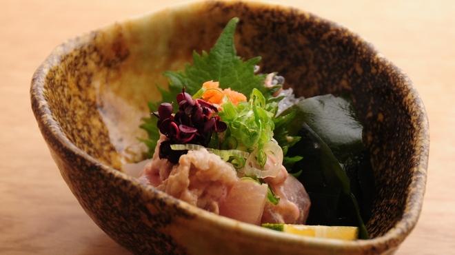 ときすし - 料理写真:カワハギ生肝ポン酢