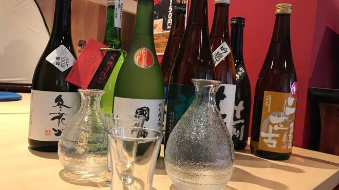 大衆居酒屋代々木横丁 - ドリンク写真:北海道日本酒