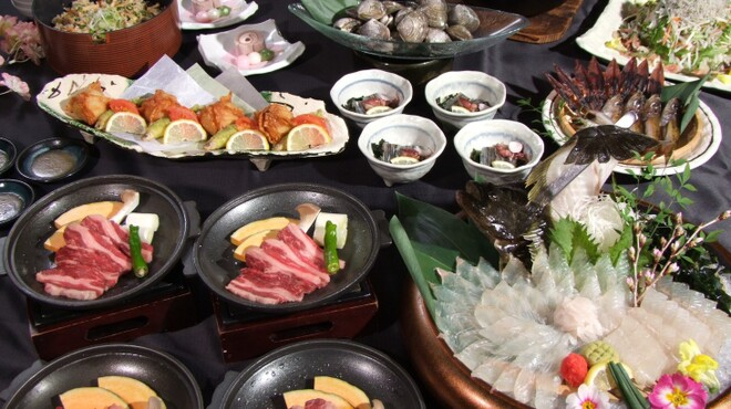 ざうお - 料理写真:春の宴4500円プラン