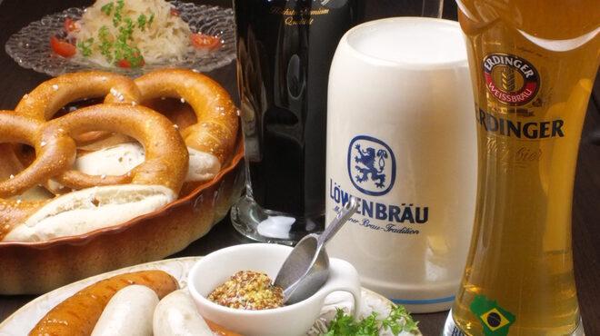 GRIMM - 料理写真:お1人2000円の選べるドイツジョッキビールプラス3品のドイツ料理
