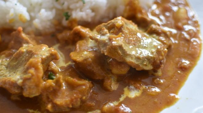 BUDDYBUDDY SENDAI EDEN - 料理写真:ランチ限定!ラム肉と豆のカレー