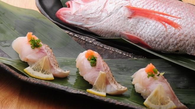 ときすし - 料理写真:のどぐろのお寿司