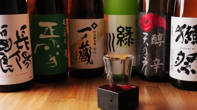 ときすし - 料理写真:日本酒もいろいろと取り揃えております。スタッフまでお気軽にお尋ねください。