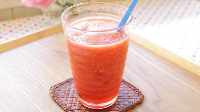 サンテカフェ - ドリンク写真:フレッシュイチゴジュース