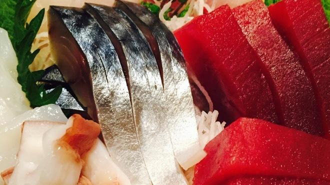 鶫 - 料理写真:鮮魚の刺身盛り合わせ