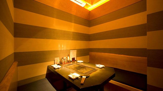 だるまさん 1丁目 - 内観写真:ゆったりと寛げる個室