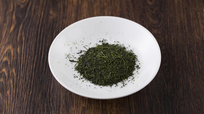 MARUFUJI CAFE - ドリンク写真:MARUFUJI オリジナル 深蒸し煎茶 (せんちゃ)(温・冷)