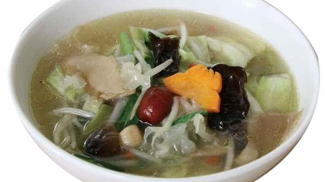 枸杞の実 - 料理写真:野菜塩タンメン