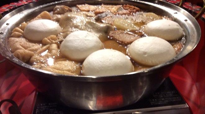 裏秋葉原 - 料理写真:丸鶏だしのおでん