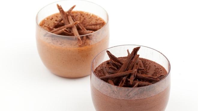 リンツ ショコラ カフェ - 料理写真:期間限定「リンツ ムース・オ・ショコラ」