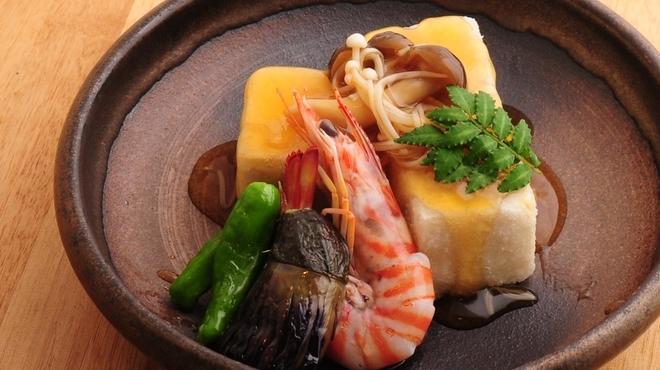 ときすし - 料理写真:揚げ出し豆腐のきのこあんかけ