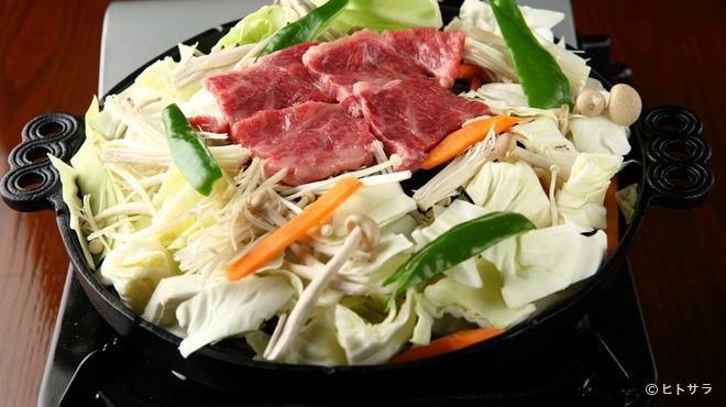居酒屋 Raita - 料理写真:日本のブランド牛を野菜を一緒にたくさん味わえる『ジンギスカン 松坂牛』は、人気No.1メニュー