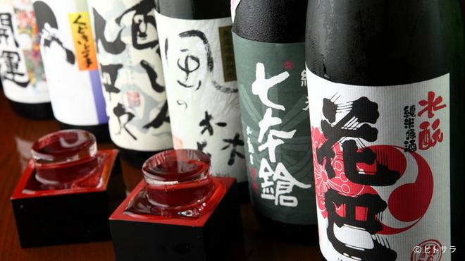 居酒屋 Raita - ドリンク写真:日本酒は、初心者向けから通好みのものまで取り揃えています
