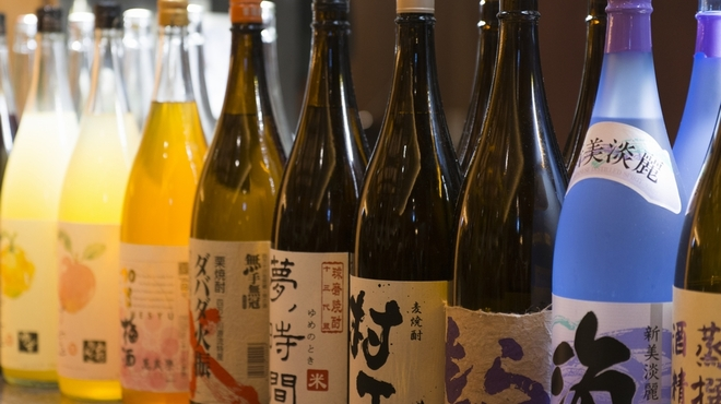 京都・烟河 - ドリンク写真:お酒もいろいろあります♪
