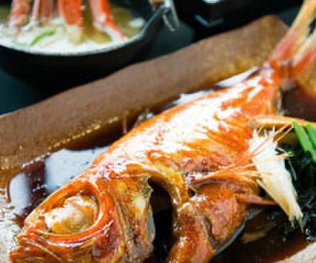 伊豆高原ビール本店レストラン - 料理写真:金目鯛の煮付け膳