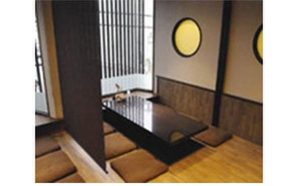 宇治創 こころ - 内観写真:2階席の個室貸切。2階席は30名様まで利用可能。また、24名様以上でも貸切もいたします。