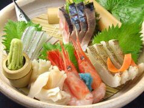 のと半島時代屋 - 料理写真:能登朝捕れ刺身盛り合わせ   2名様用(春の魚)