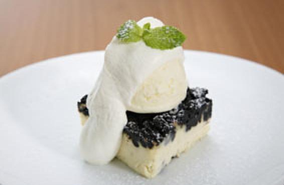 マーサーカフェテラスハウス - 料理写真:ニューヨークチーズケーキ