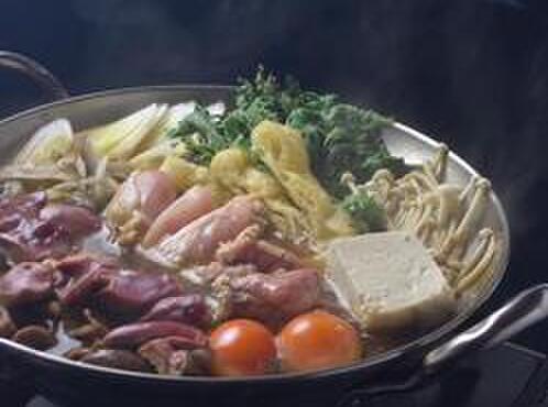 江戸路 - 料理写真:鳥一羽ちゃんこ鍋コース4000円