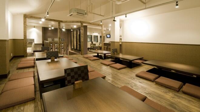 黒天 - 内観写真:2階座敷スペース